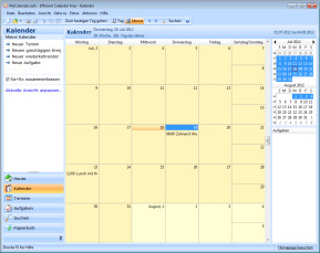 Efficient Calendar Free Portable