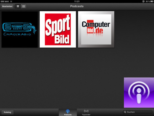 Podcasts © Apple Inc.