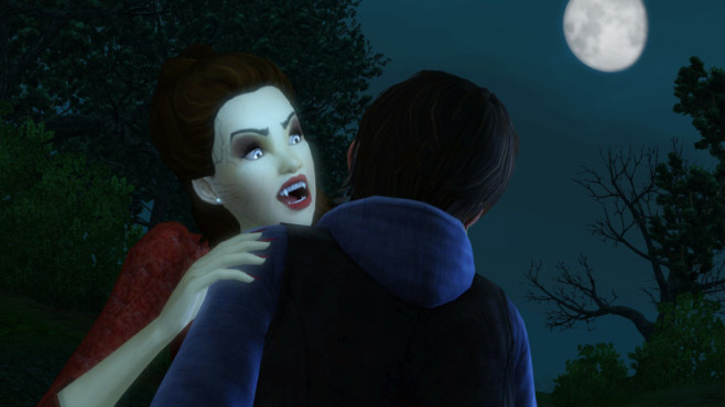 Simulation Die Sims 3 – Supernatural: Blut © Electronic Arts