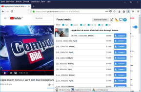 Flash Video Downloader für Firefox (YouTube HD Download, 4K)