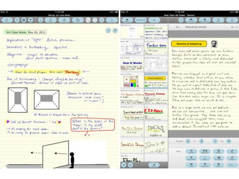 Screenshot Notetaker HD ©COMPUTER BILD