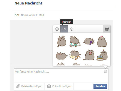 Facebook Stickers © COMPUTER BILD