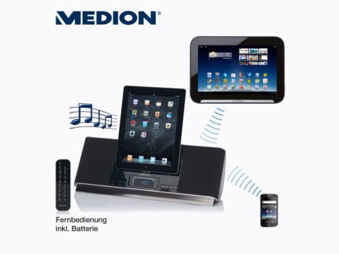 Medion Life P65044 (MD 83778) Tragbares Soundsystem (erhältlich ab 30. Juli bei Aldi Nord) ©Aldi Nord