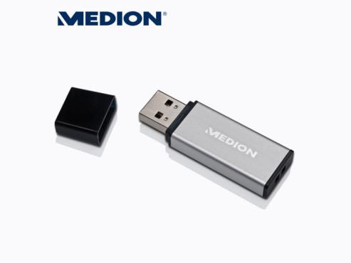 Medion P89165 (MD 86734) 16 GB USB-Stick (erhältlich ab 30. Juli bei Aldi Nord) ©Aldi Nord