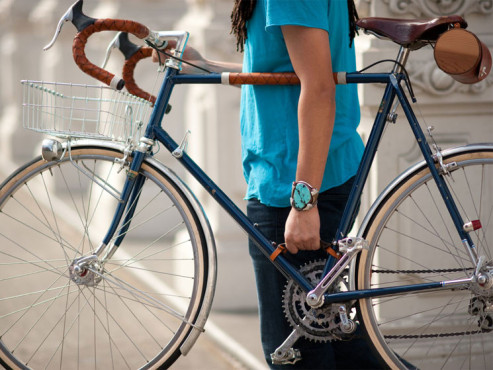 Bicycle Frame Handle © http://walnut-studiolo.myshopify.com/