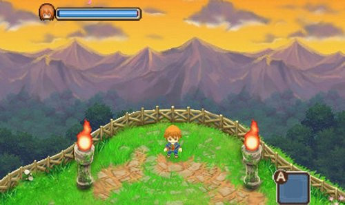 Simulation Harvest Moon – Tale of two Towns: Berg ©Nintendo