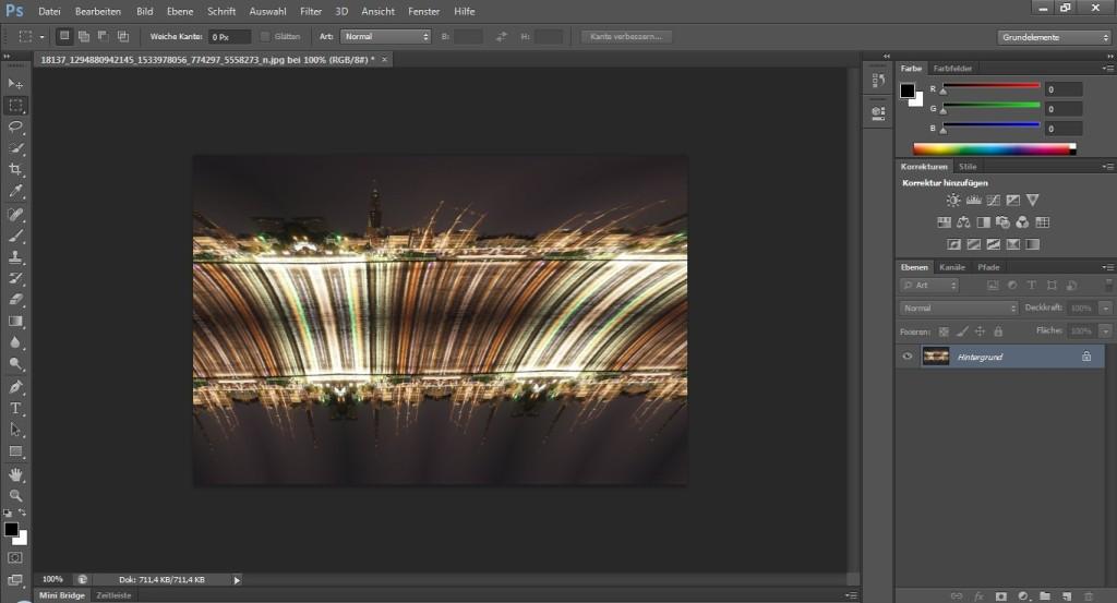 Screenshot 1 - Projection