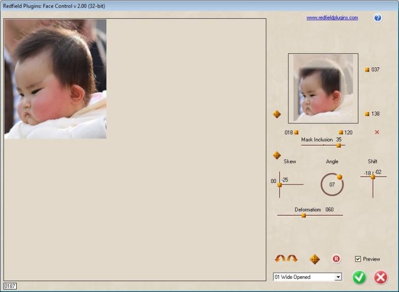 Screenshot 1 - Redfield Face Control
