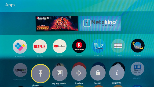 Panasonic My Home Screen 3.0 © COMPUTER BILD
