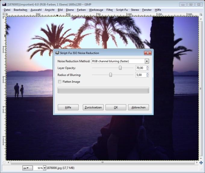 Screenshot 1 - ISO Noise Reduction
