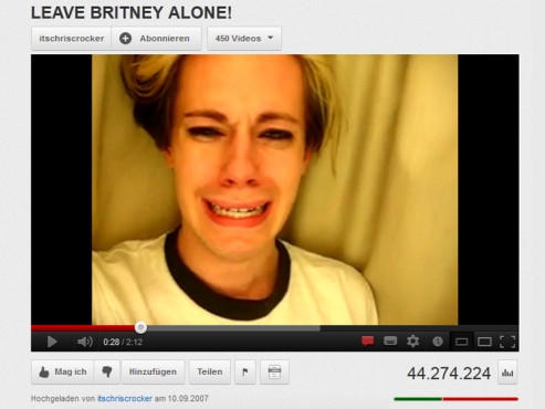 """""""Leave Britney Alone"""" ©YouTube"""