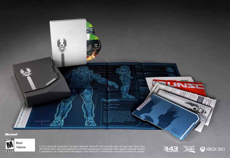 Halo 5 Limited Edition Inhalt