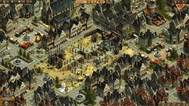 Aufbauspiel Anno Online: Baustelle ©Ubisoft