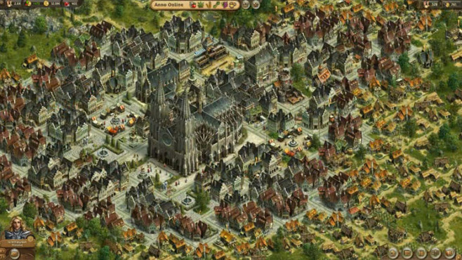 Aufbauspiel Anno Online: Kirche ©Ubisoft