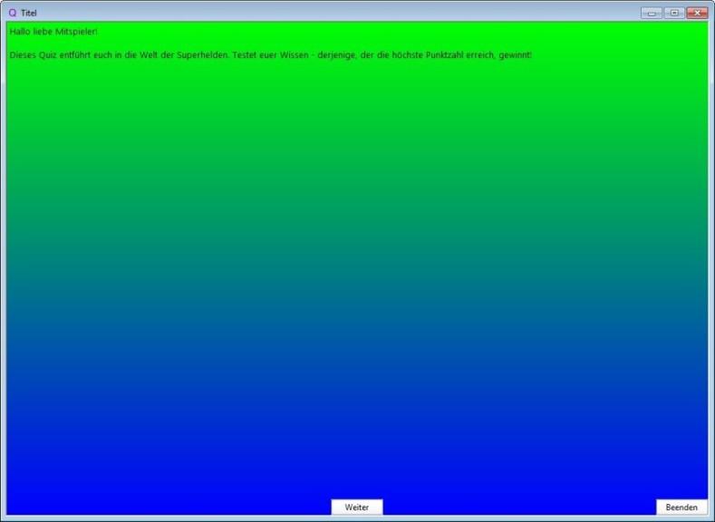Screenshot 1 - Quiz Master 3000