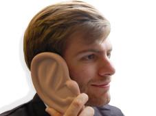 Ear iPhone Case©thumbsupworld.co.uk