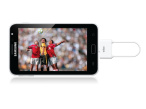 DVB-T-Tuner Tivizen Pico Android mit Android-Smartphone © icube