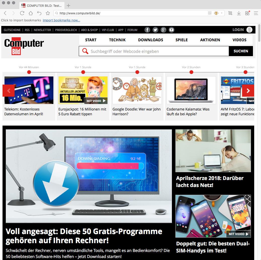 Screenshot 1 - Maxthon Cloud Browser (Mac)