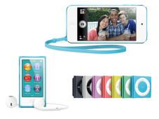 iPod shuffle, nano und touch©Apple