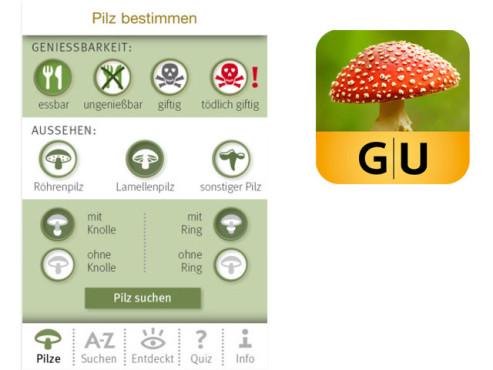 Pilze bestimmen ©Gräfe und Unzer Verlag