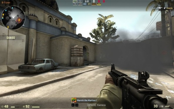 Online-Actionspiel Counter-Strike – Global Offensive: Rauchgranate © Valve