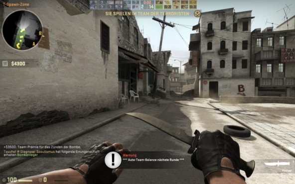 Actionspiel Counter-Strike – Global Offensive: Messer © Valve