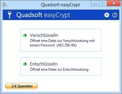 Screenshot 1 - EasyCrypt