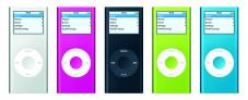 """Apple setzt beim """"iPod Nano"""" auf die sogenannte Flash-Speichertechnologie."""