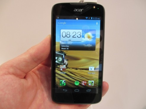 Acer Liquid Gallant © COMPUTER BILD