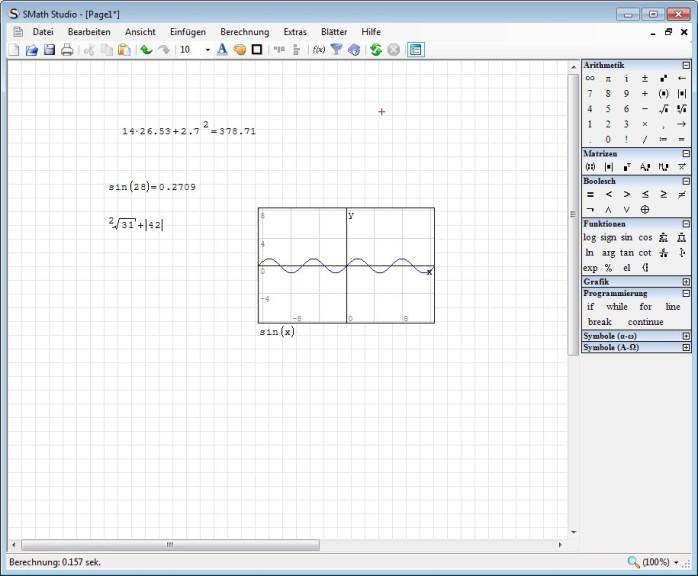 Screenshot 1 - SMath Studio