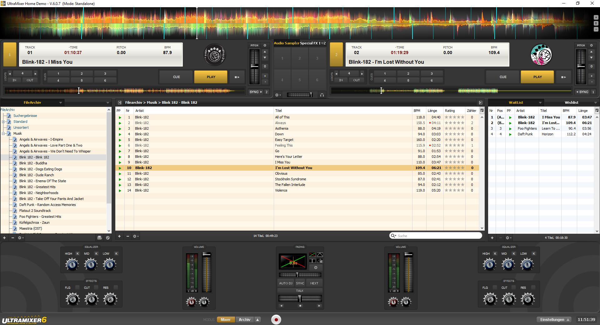 Screenshot 1 - UltraMixer