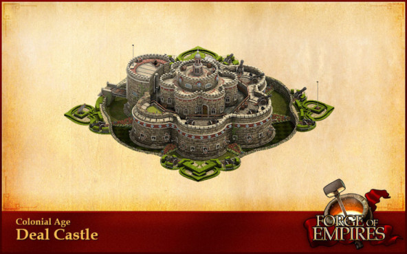 Forges of Empire: Monumentale Bauwerke Deal Castle © InnoGames