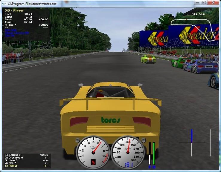 Screenshot 1 - TORCS (The Open Racing Car Simulator)