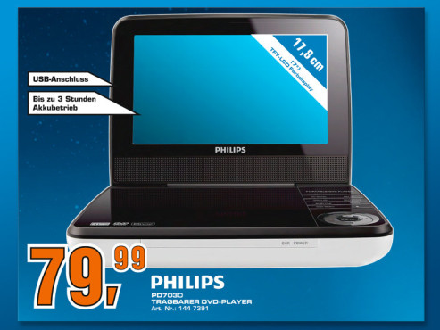 Philips PD7030 ©COMPUTER BILD
