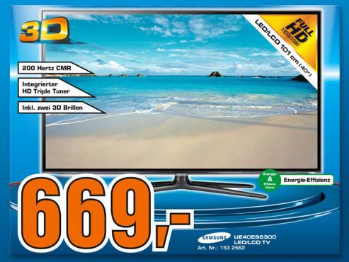 Samsung UE40ES6300 ©COMPUTER BILD