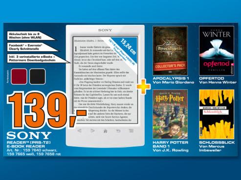Sony Reader (PRS-T2) ©COMPUTER BILD