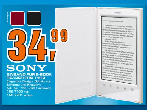 Sony Standard-Cover für Reader PRS-T1/T2 ©COMPUTER BILD