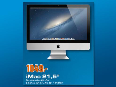"""iMac 21,5"""" MC309D/A ©COMPUTER BILD"""