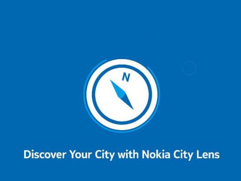 Nokia City-Kompass ©Nokia