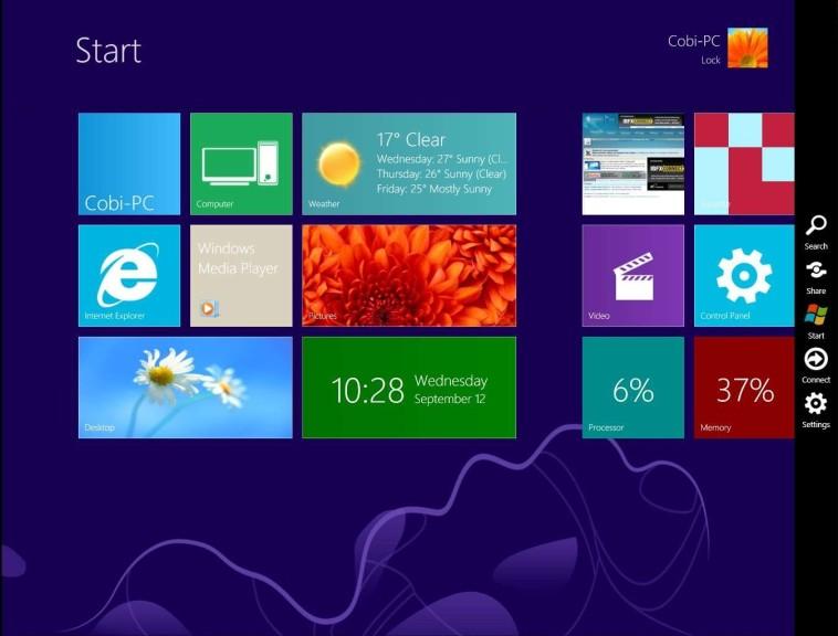 Screenshot 1 - Windows 8 UX Pack