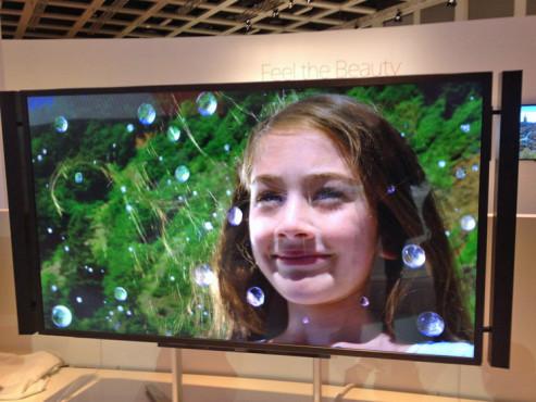 Sony Vierfach-Full-HD-Fernseher Bravia KD-84X9005©Sony