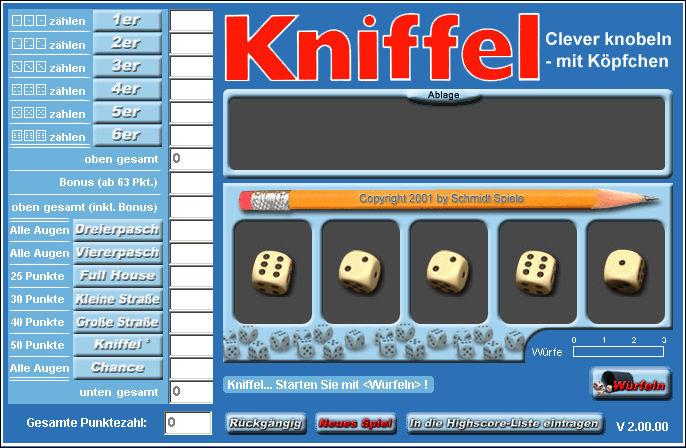 Kniffel Kostenlos Spielen