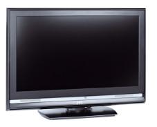 Gehäusefront und Bildschirm des JVCs spiegelten im Test kaum.
