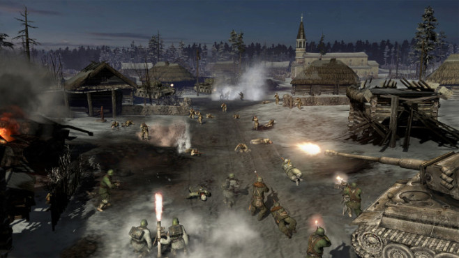 Company of Heroes 2: Attacke © THQ