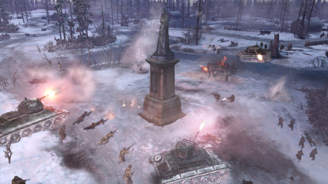 Company of Heroes 2: Statue ©THQ