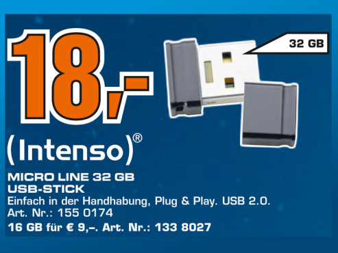 Intenso Micro Line 32GB © Saturn