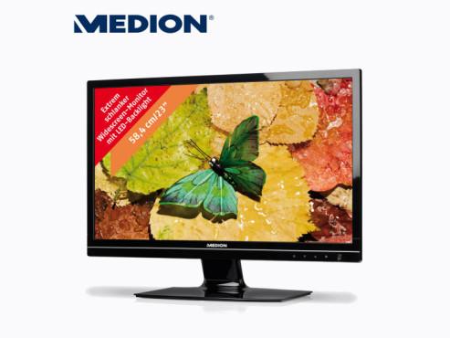 Medion Akoya X55088 (MD 20888) Monitor (erhältlich bei Aldi Nord) ©Aldi
