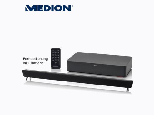 Medion Life P69042 (MD 83436) 2.1-TV-Soundbar (erhältlich bei Aldi Nord) ©Aldi Nord