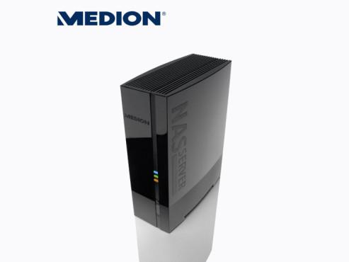 Medion Life P89633 (MD 86769) Heimnetzlaufwerk (erhältlich bei Aldi Nord und Süd) ©Aldi Nord