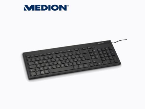 Medion P81041 (MD 86540) USB-Tastatur (erhältlich bei Aldi Nord) ©Aldi Nord